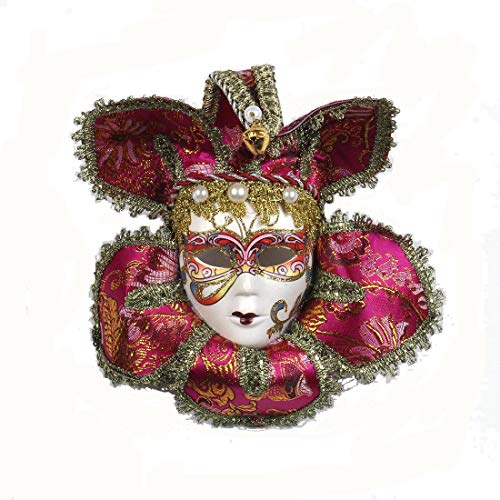 YUFENG Full Face Mardi Gras Mini Masquerade Masks