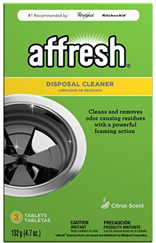 Affresh Citrus Scent Disposal Cleaner Tablets, 3 count