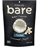 Bare Natural Coconut Chips, Toasted, Gluten Free + Baked, 1.4 Ounce (12 Count)