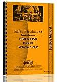 Allis Chalmers FP 40 Forklift Service Manual