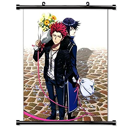 Amazon com: K Project Anime Fabric Wall Scroll Poster (32x40
