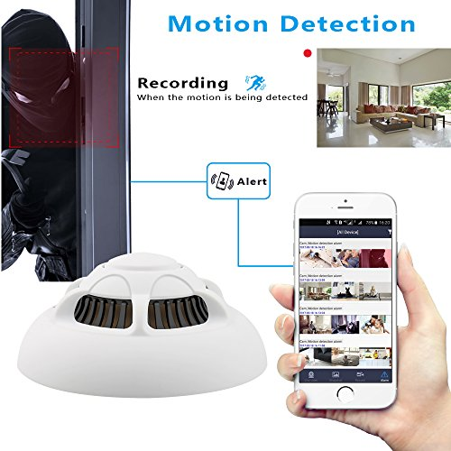 Wireless Video Wi-Fi Hidden Camera - Aisoul Hd 1080P Spy -3386