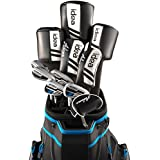 Adams Mens Idea Woods/Irons Sets 5Wds/6Irns/Putter/Bag Graphite, Regular