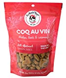 Le Petit Treat All-Natural Dog Treats – Made in USA Grain Free with Human Grade Ingredients – Soy & Corn Free for Skin, Teeth & Digestive Health – 8oz. Bag (Coq Au Vin) Review