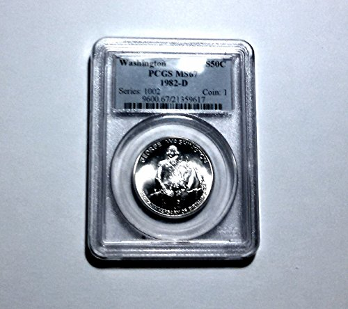 (1982 Modern Commemorative (1/2) MS-67 PCGS)