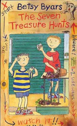 book cover of The Seven Treasure Hunts