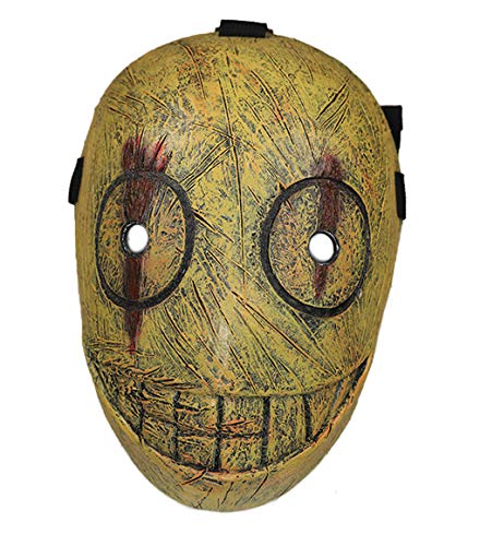 Legion Frank Mask Props Accessories for Adult Bronze -