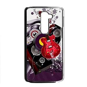 Puple Music Box Custom Protective Hard Phone Cae For LG G2