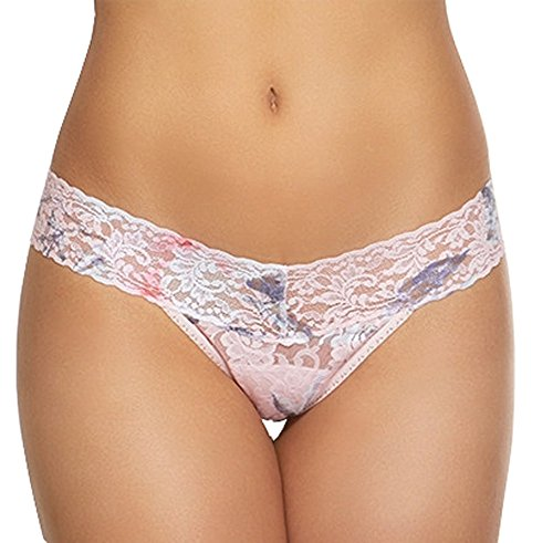 Hanky Panky Womens Rolled Cherie Low Rise Thong In Cherie