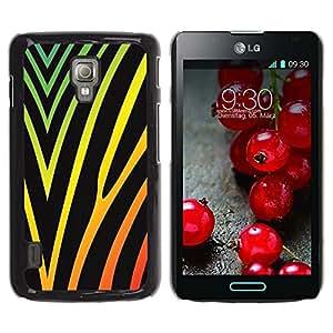 Be Good Phone Accessory // Dura Cáscara cubierta Protectora Caso Carcasa Funda de Protección para LG Optimus L7 II P710 / L7X P714 // Gorgeous texture