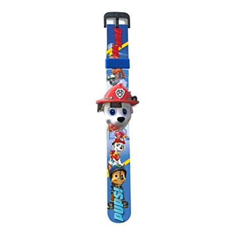 Patrulla Canina Reloj Digital 3D con Sonido Kids Euroswan PW16297