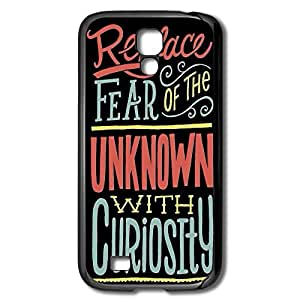 Galaxy S4 Cases Replace Fear Unknown Design Hard Back Cover Shell Desgined By RRG2G