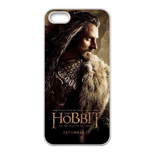 The Hobbit 006 coque iPhone 4 4S cellulaire cas coque de téléphone cas blanche couverture de téléphone portable EOKXLLNCD20086
