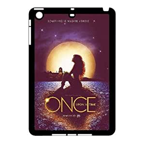 wugdiy Custom Hard Plastic Back Case Cover for iPad Mini with Unique Design Once Upon A Time