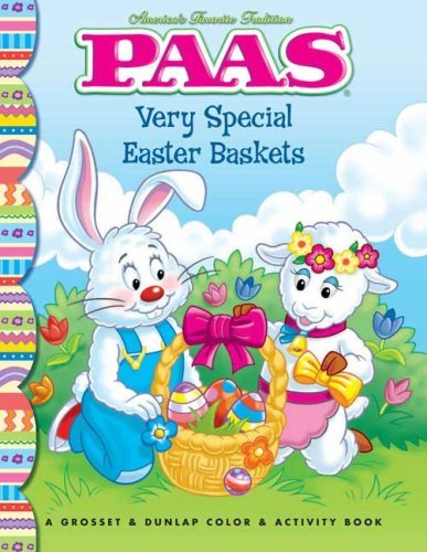 Very Special Easter Baskets: PAAS (Paas Coloring Activities)