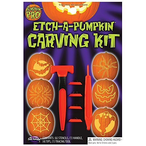 Etch-a-pumpkin Carving Kit