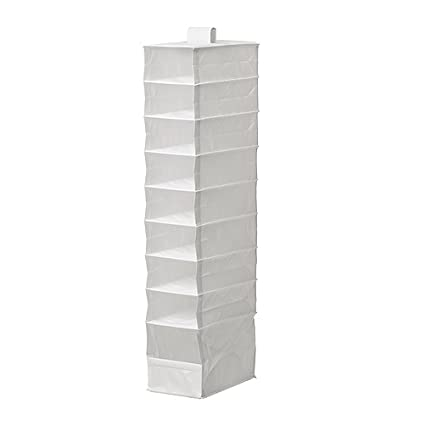 Charmant Ikea Storage Organizer Hanging 9 Compartments Skubb White