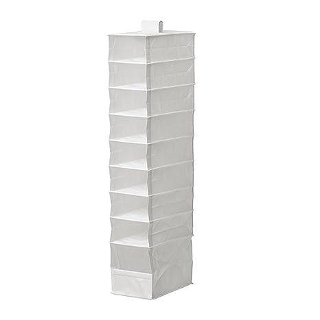 Ikea - Contenitore a 9 scomparti, colore: Bianco: Amazon.it: Casa e ...