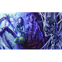 MTG Playmat Artists of Magic Premium Playmat KUNA Onna w/Artwork by PIYA WANNACHALWONG