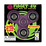 Raymond Geddes & Company, Inc. Glow in The Dark Fidget-SU Spinner 12/DSP