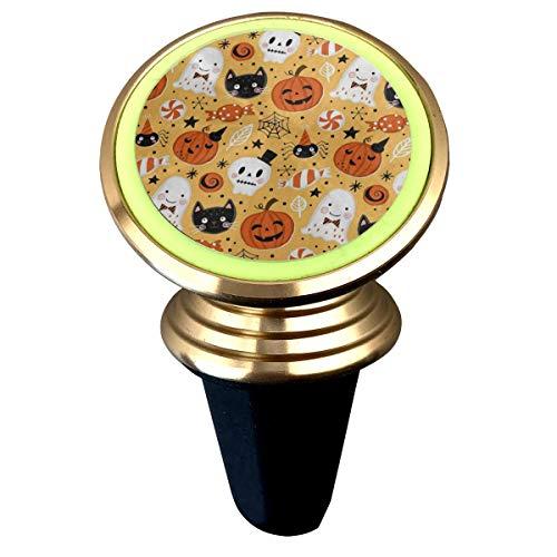Magnetic Car Holder Rotation Universal Halloween Holiday Ghost Pumpkin Bat Custom Adjustable 360˚ Rotation Universal Car Mount Cell Phone Stand for Phone X/6/6s/7/8/8 Plus/7 ()
