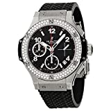 Watches : Hublot Big Bang Black Dial Automatic Black Rubber Mens Watch 342SX130RX114