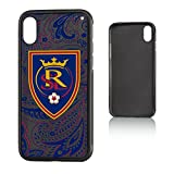 Keyscaper MLS Real Salt Lake Paisley Bump Case for iPhone X, Black
