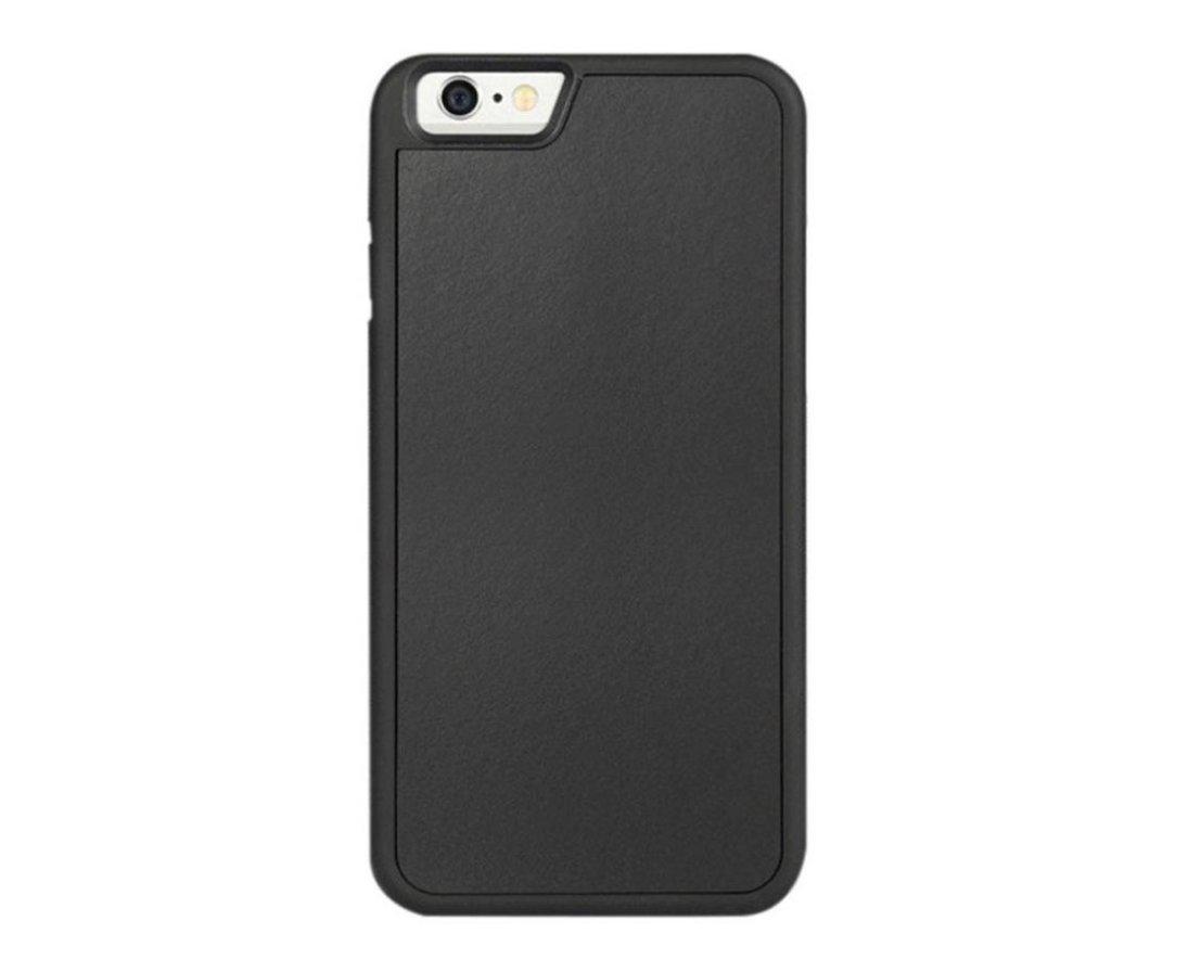80091cac872 boldR® Funda Anti Gravedad para iPhone 6 / iPhone 6s. Funda Negra que se  pega en cualquier superficie como espejos, vidrio, madera, cerámica, metal,  ...
