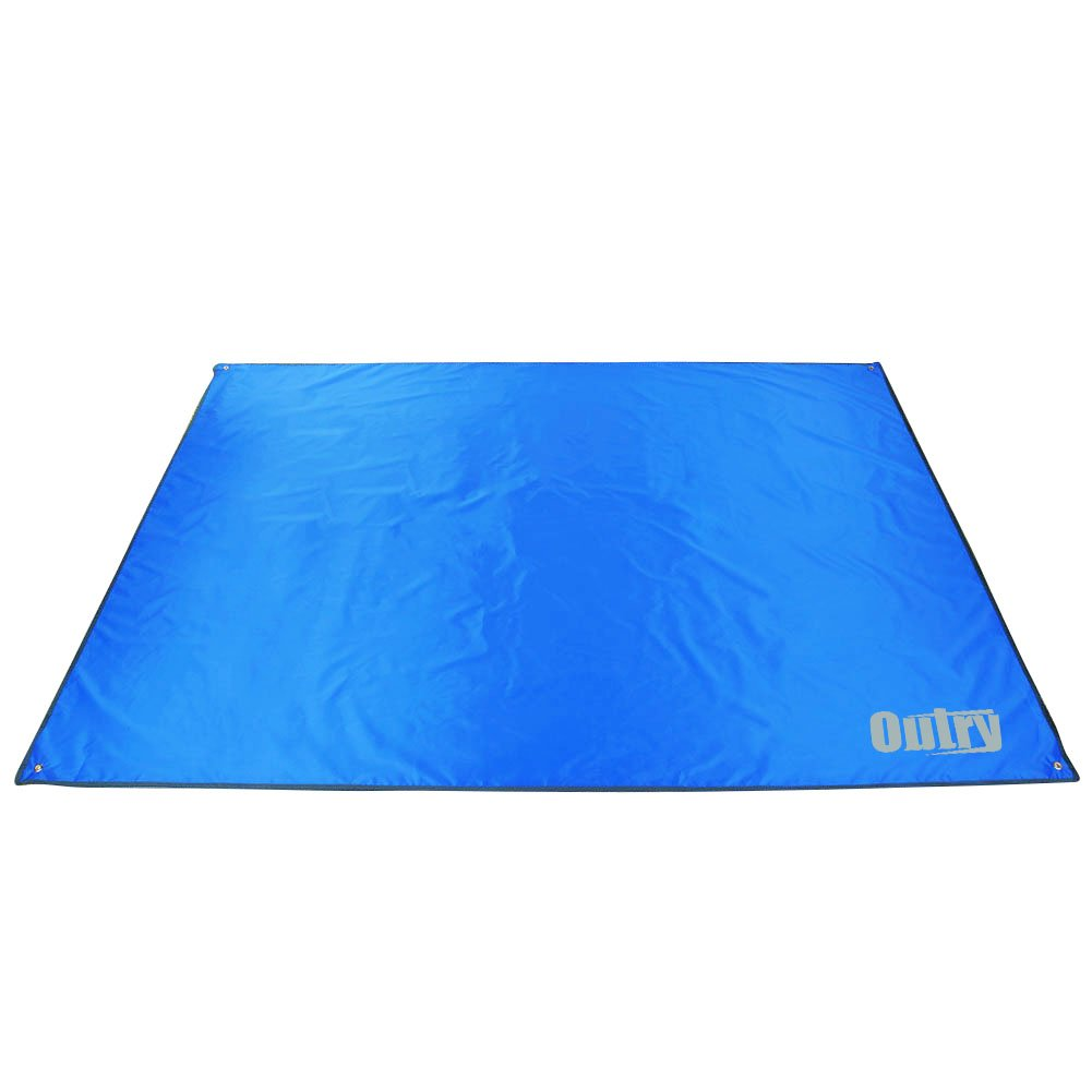 Outry Waterproof Multi-Purpose Tarp 3 Tent Stakes Included