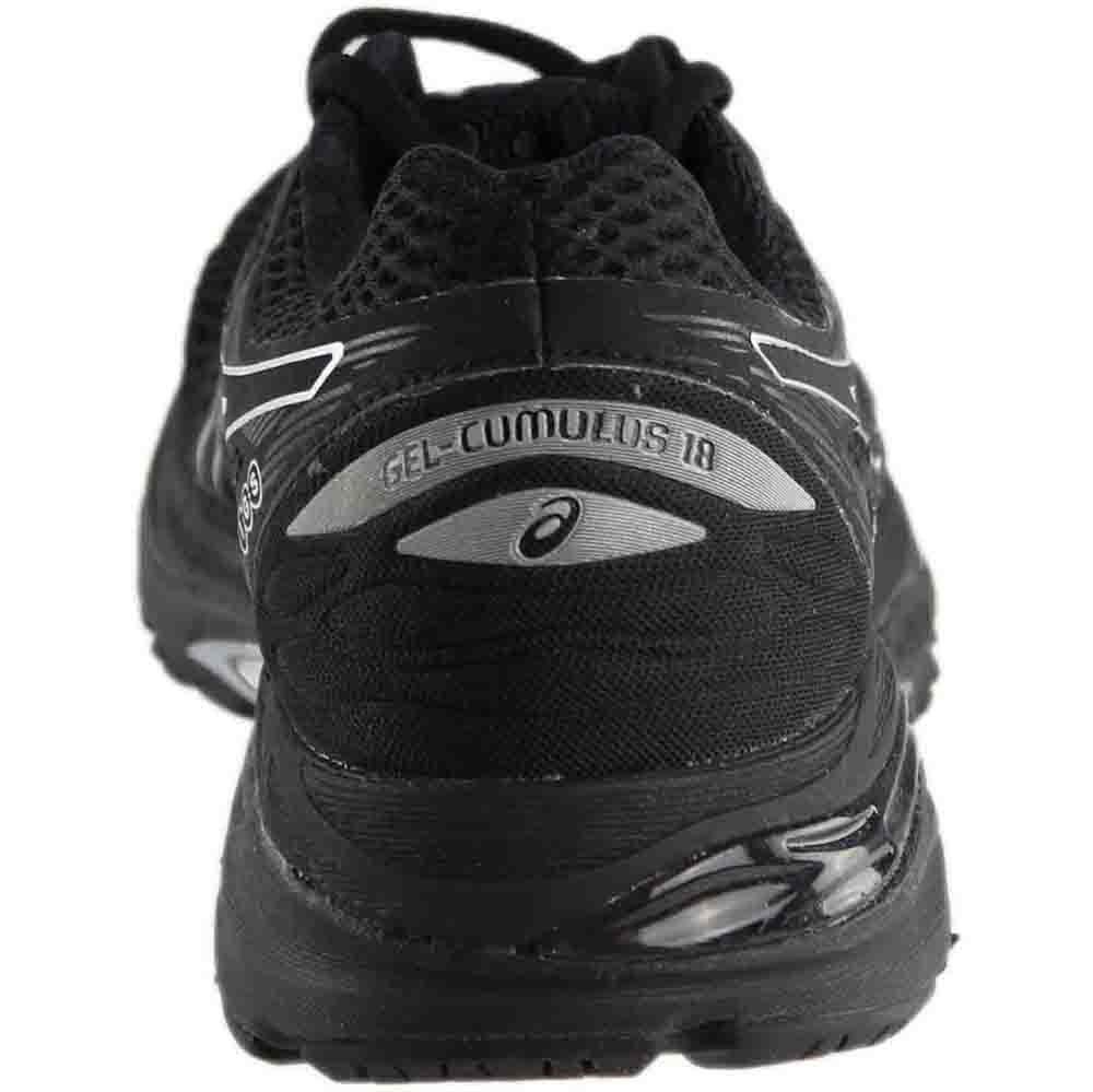 ASICS Women's Gel-Cumulus 18 Running Shoe B06XC8PWHN 6 B(M) US|Black/Silver/Black