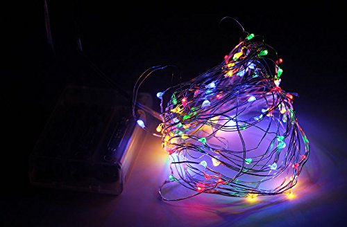 Easy To Make Cosplay Costumes For Guys ([RGB] 10M LED Battery Operated string fairy light copper wire Halloween Xmas)