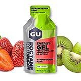 GU Energy Roctane Ultra Endurance Energy Gel, Strawberry Kiwi, 24-Count For Sale