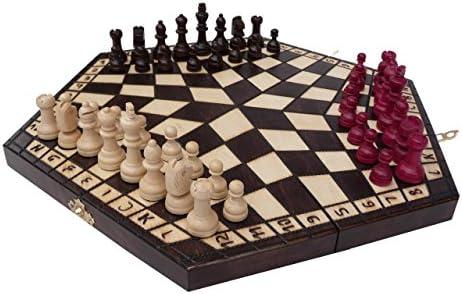 Chessebook - Ajedrez, para 3 jugadores 40 x 35 cm: Amazon.es: Juguetes y juegos