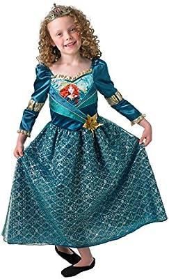 Rubies - Disfraz Oficial de la Princesa Mérida Brillante de Disney ...