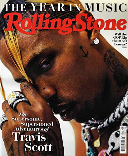 (Rolling Stone Magazine January 2019 TRAVIS SCOTT Cover)