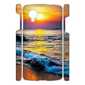 Canting_Good Sea Beautiful Beaches Custom Case Shell Skin for Google Nexus 5 3D
