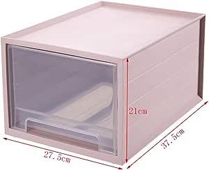 YXWa Carpetas Caja de Almacenamiento de Escritorio, cajón, gabinete de Almacenamiento, archivador A4, Almacenamiento de múltiples Capas, Caja de Acabado, Estante de Oficina, plástico Caja de Archivo: Amazon.es: Hogar