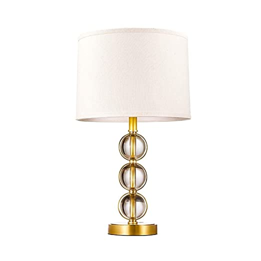Lámparas de Escritorio Bola de cristal de América lámpara de mesa ...