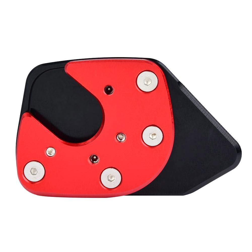 Grey Kickstand Pad Motorcycle Foot Side Stand Extension Kickstand Pad Plate Anti-slip Kickstand Pad for Honda NC750X 17-18