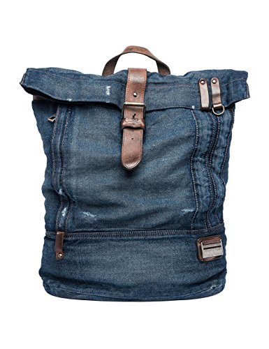 Replay Men's Men's Blue Denim Backpack Blue by Replay