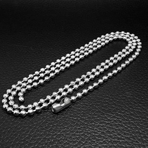 Perlin Cadena de Acero Inoxidable con Bolas de 1,5 mm, 2 mm ...