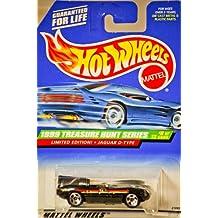 1999 Treasure Hunt Series Jaguar D-type 8 of 12 #936 Hot Wheels Mattel