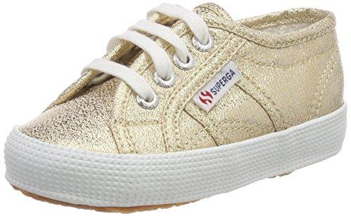 Superga Unisex-Kinder 2750 Lamebumpj Sneaker Gold (Gold)