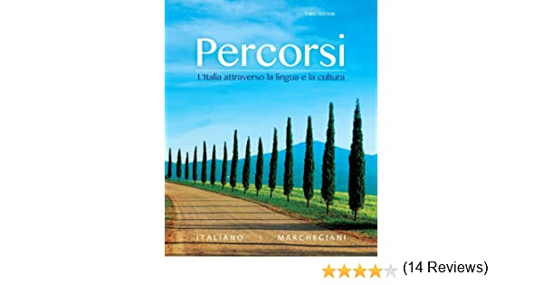 Amazon.com: Percorsi: L'Italia attraverso la lingua e la cultura ...