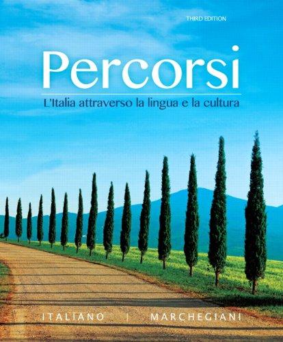 020599895X - Percorsi: L'Italia attraverso la lingua e la cultura (3rd Edition) - Standalone book