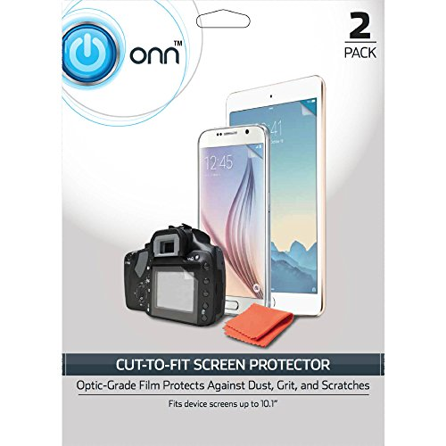 ONN ONA16TA011 Cut to fit screen protector-2 pack ()