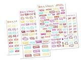 Nursing School | Student Nurse | Future RN | Future Nurse | Personal Planner Sticker Bundle | Planner Accessory (Summer_Gloss)