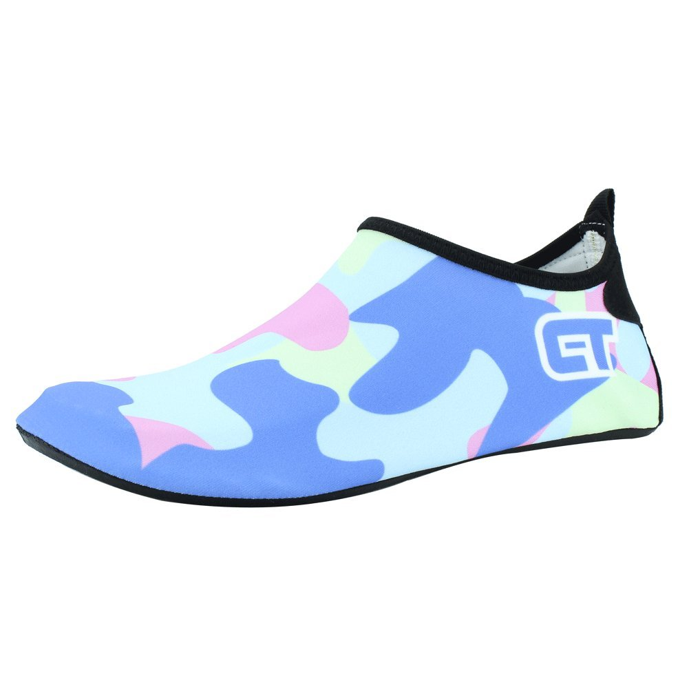 ba8e7bcb31 SENFI Zapatos ligeros de agua de secado rápido niños) C.lightblue ...
