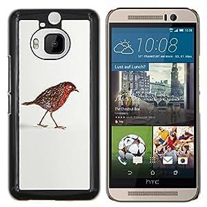 LECELL--Funda protectora / Cubierta / Piel For HTC One M9Plus M9+ M9 Plus -- Estatuilla Estructura Arte Pequeño --