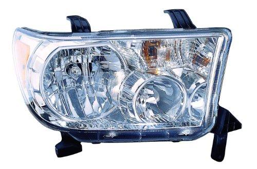 Depo 312-11A3RMAFM Head Lamp Assembly (Toyota Tundra 09-13 W/Level Adjuster Passenger Side Nsf)